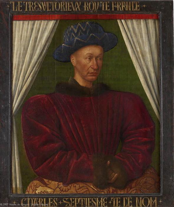 Ж Фуке. Король Карл VII